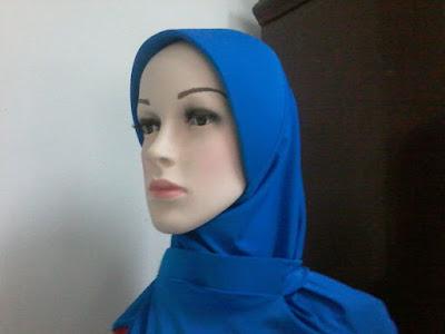Jilbab PSK, Kerudung PSK