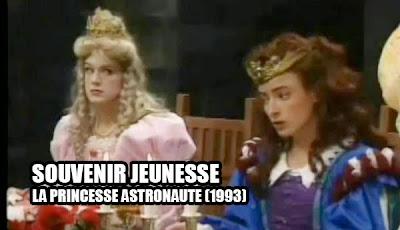 La princesse astronaute émission jeunesse québecoise