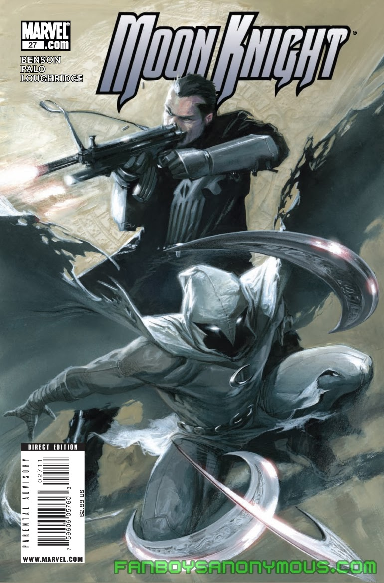Follow Moon Knight and Punisher's adventures in Moon Knight: Down South