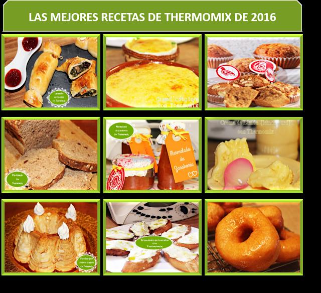 LAS MEJORES RECETAS CON THERMOMIX DE 2016 {THERMOMIXIL}