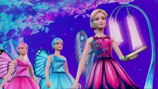 Barbie Butterfly e a Princesa Fairy