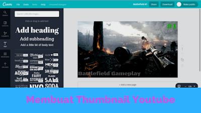 Buat Thumbnail Youtube Online