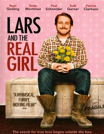 Poster Of Lars and the Real Girl 2007 English 300MB BRRip 480p ESubs Free Download Watch Online Worldfree4u