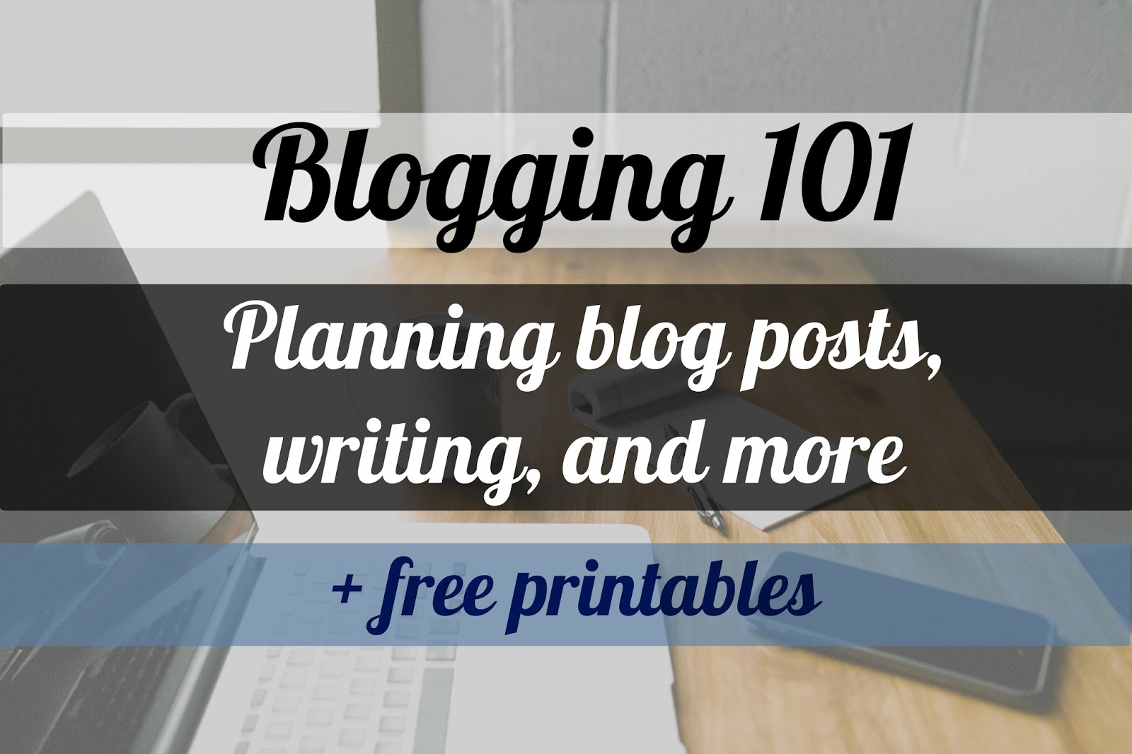 how to effectively plan a blog post