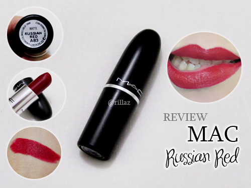 Review : MAC Russian Red Lipstick |