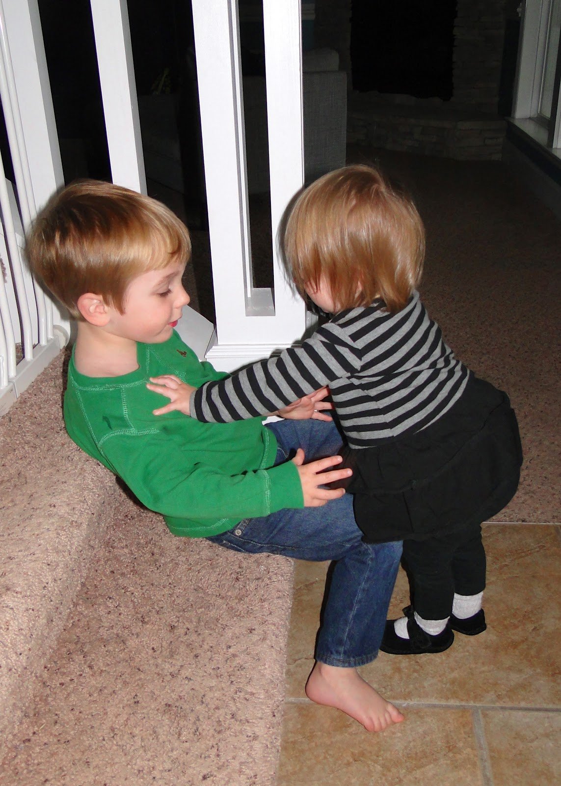 The Impossible Task of Sibling Photos