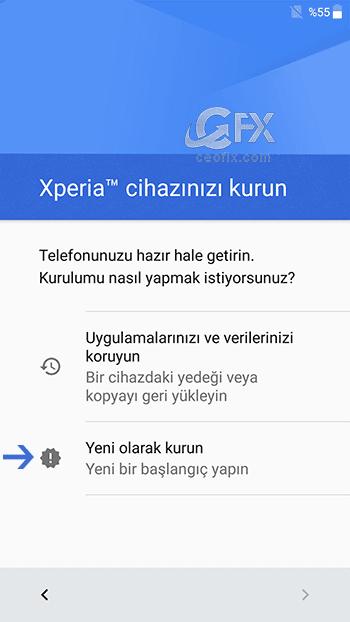 android temiz kurulum - www.ceofix.com