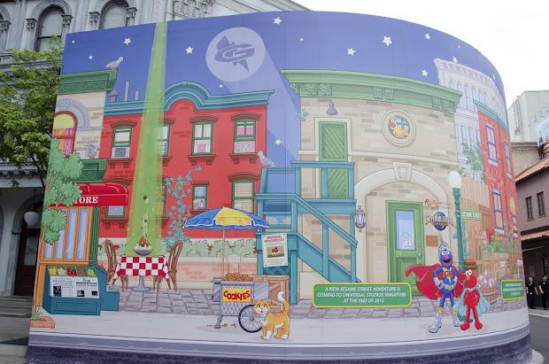 Cool Murals Sesame Street Graffiti Mural World