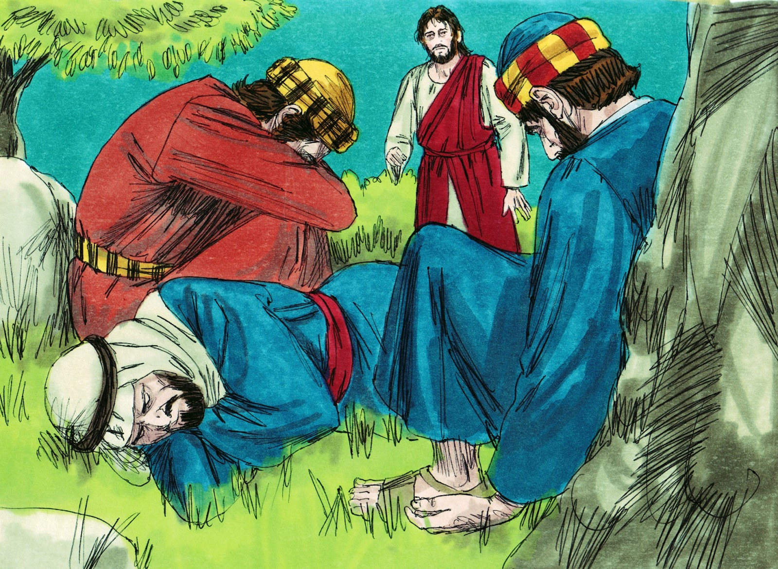 Bible Fun For Kids Jesus In The Garden Of Gethsemane