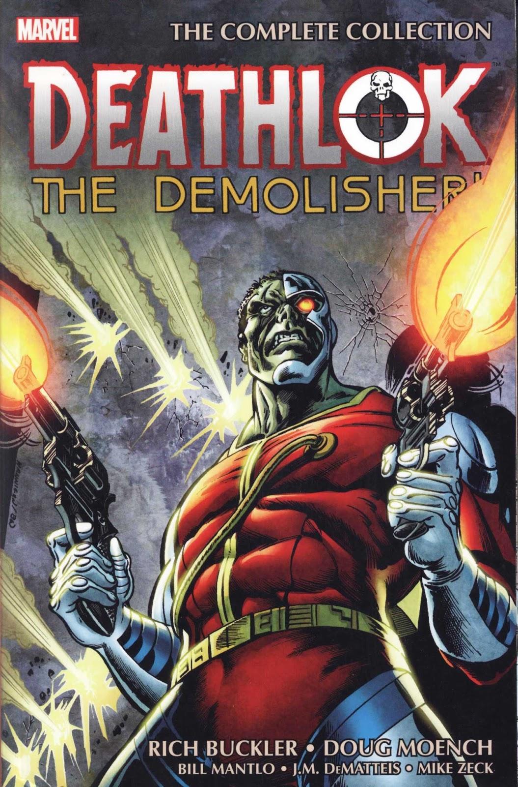 Deathlok The Demolisher Complete Collection
