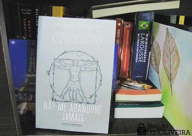 Livro Não Me Abandone Jamais Kazuo Ishiguro Companhia das Letras