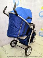 Kereta Bayi LightWeight CocoLatte CL908R Trip Reversible Blue