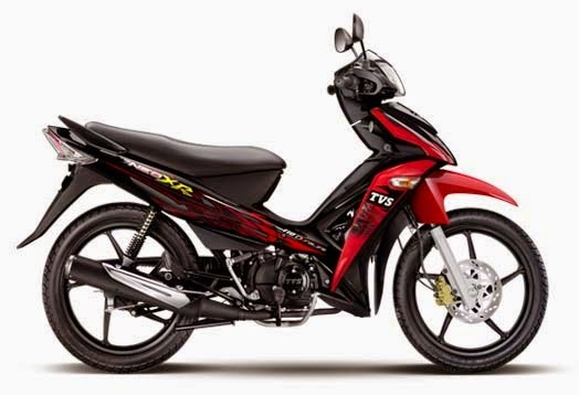 TVS Neo XR Red