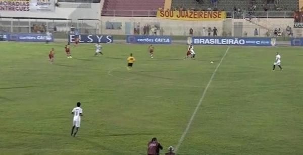 ABC empata em 2 x 2 jogando contra a Juazeirense