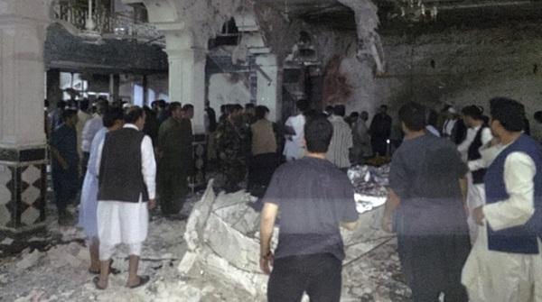 Pengebom bunuh diri sasar masjid Syiah, 30 maut, 60 cedera