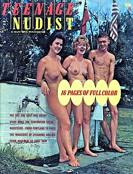 young nudist group
