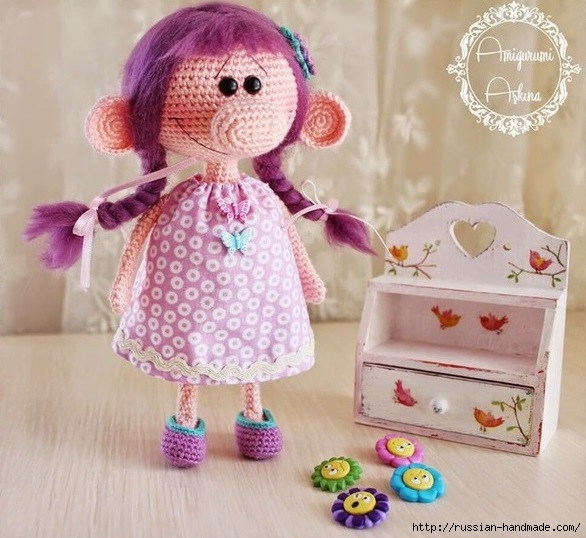 Amigurumi Lana Doll- Free Pattern   Amigurumi Free Patterns ...   538x586