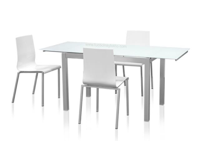 silla cocina blanca monocasco | tu Cocina y Baño