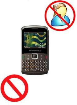 Bloqueio Chamadas Motorola ex115