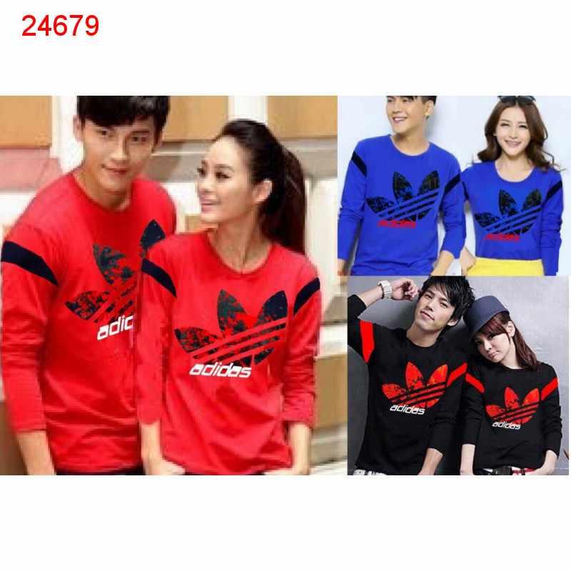 Jual Couple Lengan Panjang LP Adidas Prime - 24679