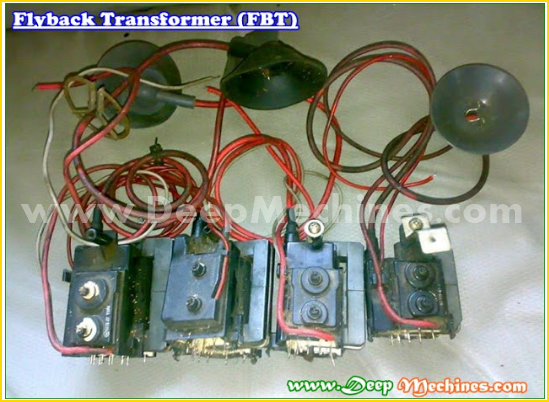Fungsi Flyback Transformer (FBT) di  Mesin TV