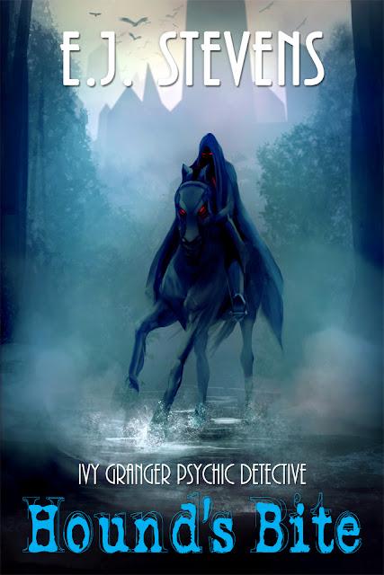 Hound's Bite (Ivy Granger, Psychic Detective #5) urban fantasy by E.J. Stevens
