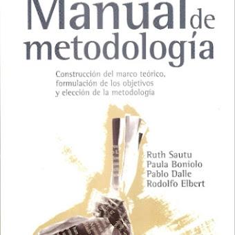 Manual De Metodologia Ruth Sautu Pdf