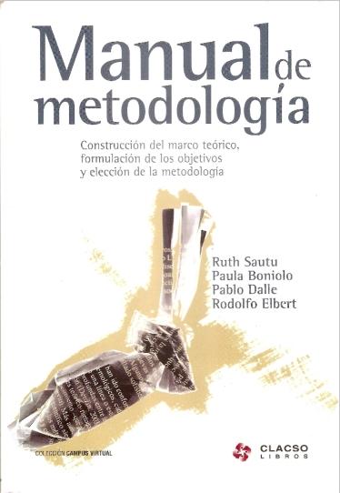 Libro Manual de Metodología