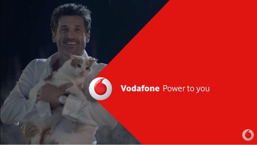 Canzone Vodafone pubblicità con Patrick Dempsey e il gatto - Musica spot Gennaio 2017