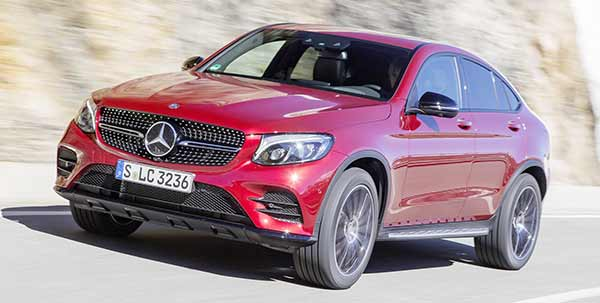 The new Mercedes-Benz GLC Coupe review boasts 255bhp
