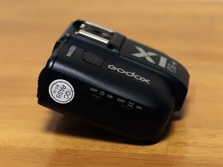 Godox X1T-C TTLワイヤレスフラッシュトリガー キヤノン用-3