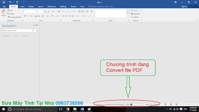 Chỉnh sửa PDF trong Word - H02