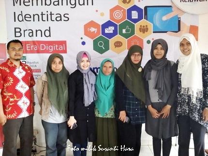 peserta seminat strategi branding