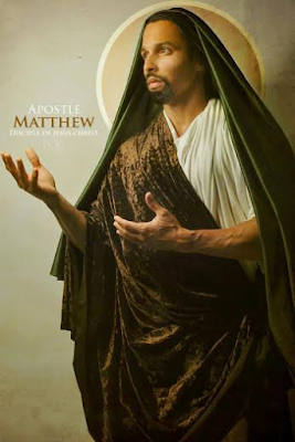 Black Biblical characters Apostle MATTHEW