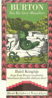 Babil Kitaplığı 27 - Burton - Bin Bir Gece Masalları
