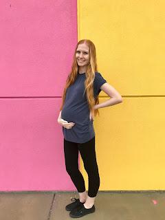 pink and yellow walls