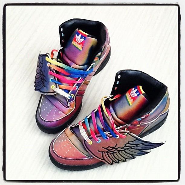 021abc8fd6bd adidas Originals by Jeremy Scott JS Wings – Multicolor Edition