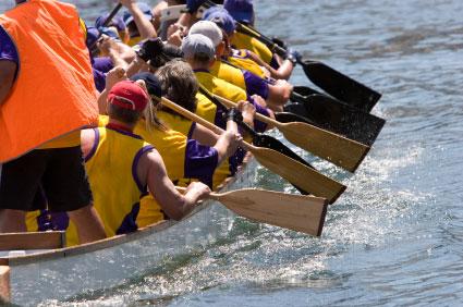 Dragon Boat Race Season China