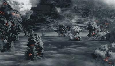 Ledakan Dasyat Gunung Toba Indonesia