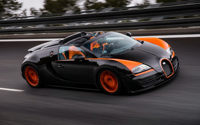 Bugatti Veyron Grand Sport Vitesse Luxury Cars