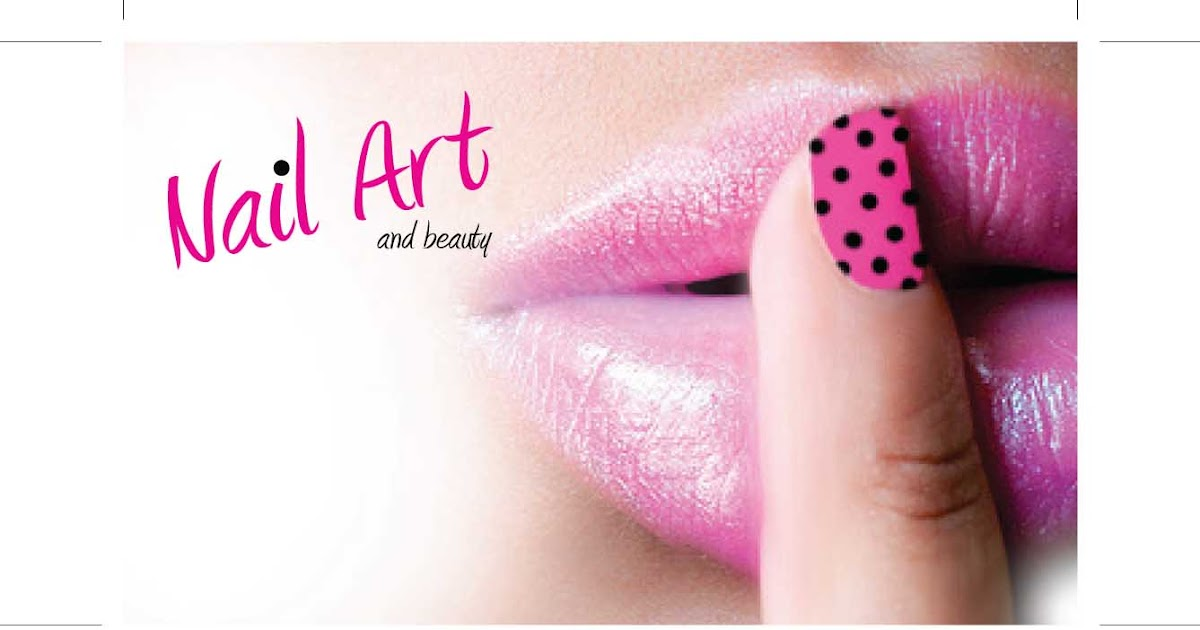 natasha essentials: Business Card Design - Nail Art and Beauty