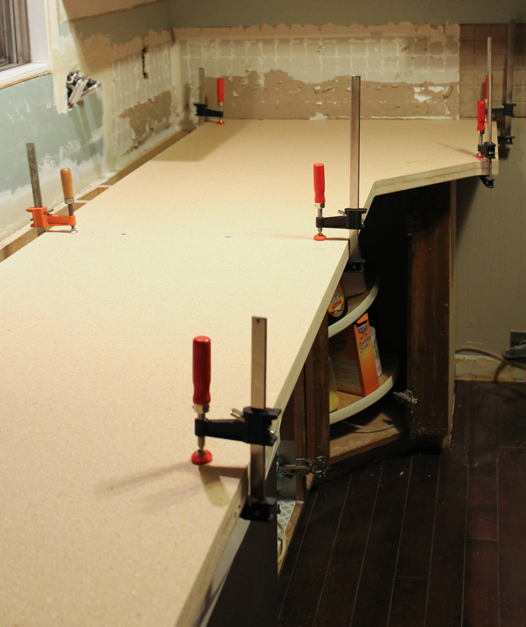 How To DIY Laminate Countertops