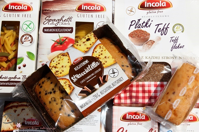 Incola, czyli polska marka bezglutenowa - recenzja