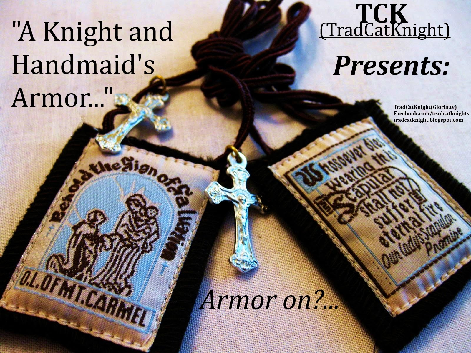 A Knight's Armor: The Scapular
