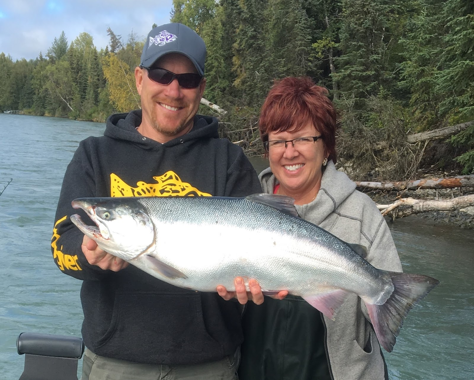 The highlights of jimmie jack 39 s 2016 summer fishing season for Salmon fishing season