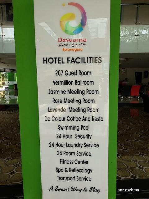 fasilitas hotel dewarna