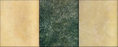 Tekstur stucco tehnik glasir