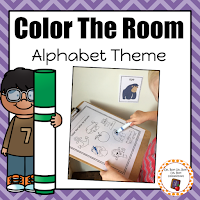 https://www.teacherspayteachers.com/Product/Alphabet-Color-the-Room-2946707