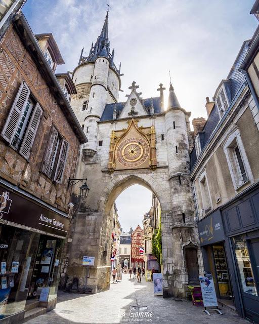 Horloge d'Auxerre, Bourgogne, France
