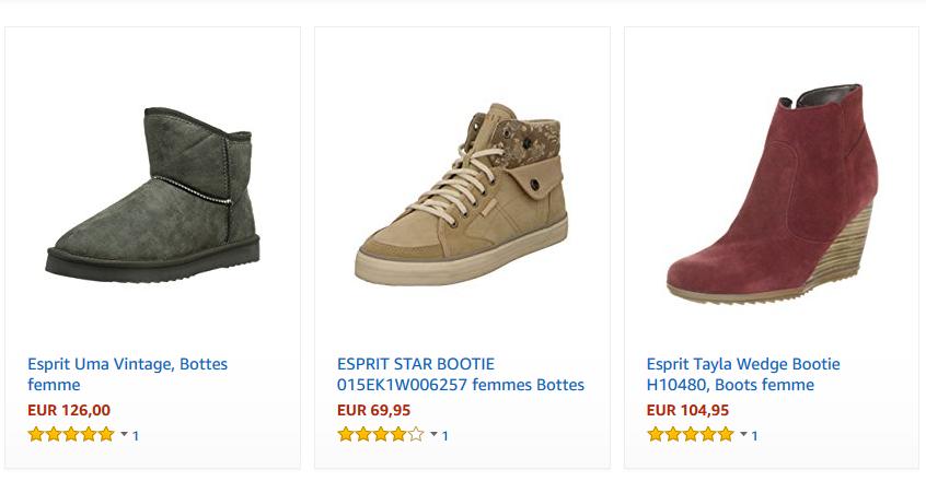 chaussures femme esprit pas cher tendance mode 2019